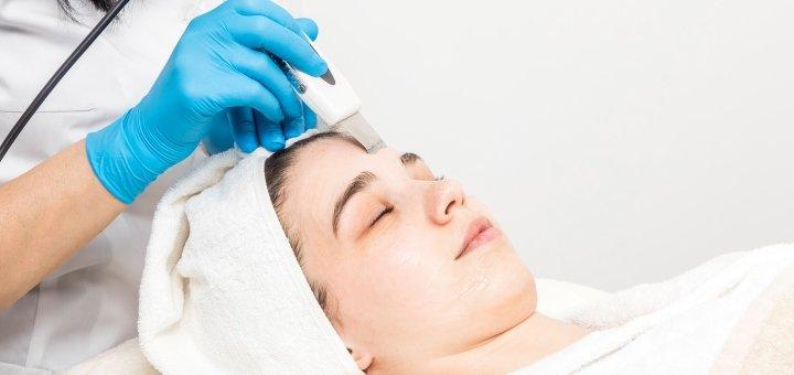 Ультразвуковая чистка лица в салоне beauty «BAXTER» salon ...