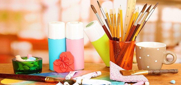 4 или 8 занятий живописью масляными красками в студии «La Bricolage»!