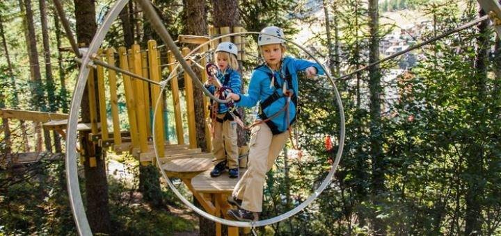 Скидка 30% на прохождение тропы MAXIMUM в будние дни от веревочного парка «Seiklar»