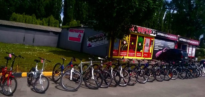 Скидка до 50% на прокат велосипедов в пункте проката велосипедов «Veloprokat»