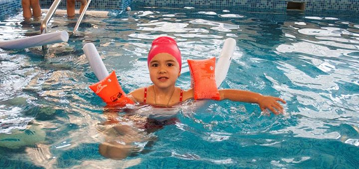 До 24 занятий аквааэробикой для взрослых и детей в бассейне «Перша Школа Плавання»