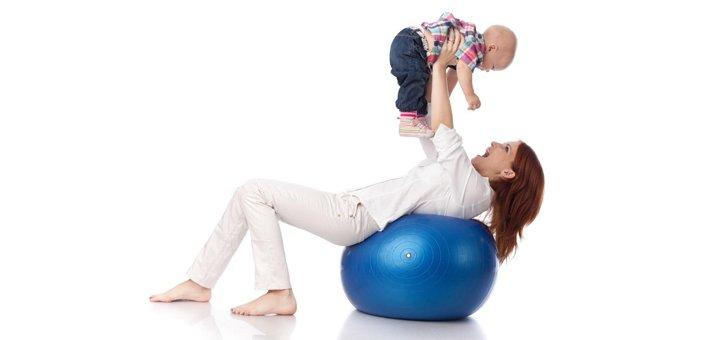 До 10 групповых занятий фитнесом для мам с малышом в семейном клубе «WellnessConcept»