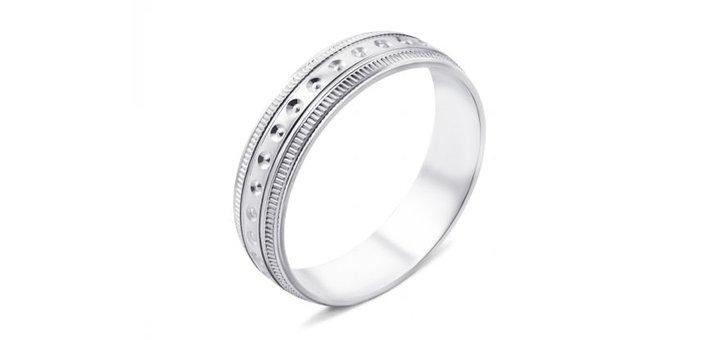 Скидка 10% на обручальные кольца из серебра