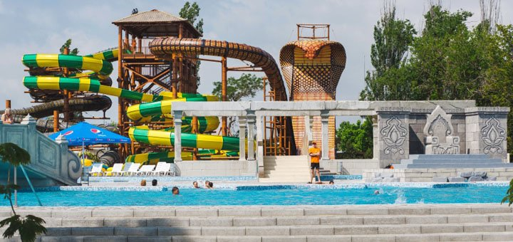 8 дней отдыха для всей семьи с посещением аквапарка в новом отеле «Отель Аквапарк Затока»