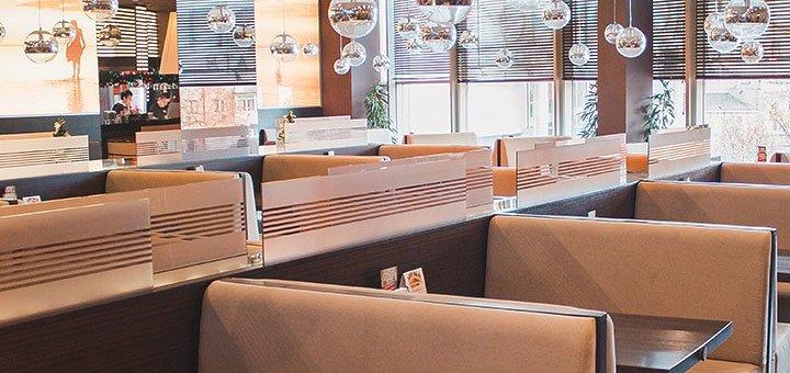 Скидка 50% на всё меню кухни в итальянском ресторане «Портофино