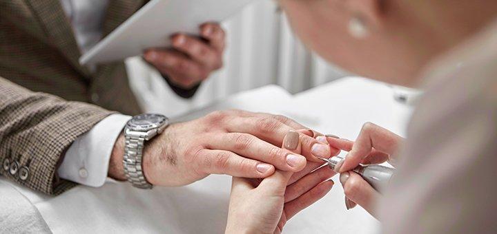 Скидка до 30% на мужской гигиеничиский маникюр и педикюр в центре «Колибри»