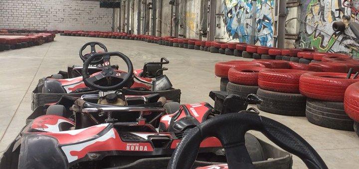 Скидка 60% на 10 кругов на закрытом картинге «Rider Kart»
