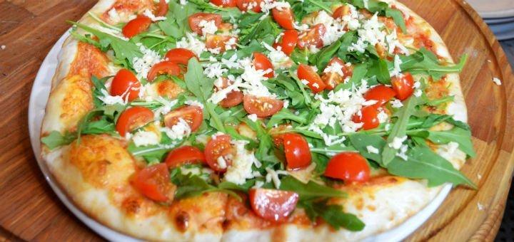 Знижка 50% на все меню піц від піцерії «Ciao Bella» на вулиці Саксаганського