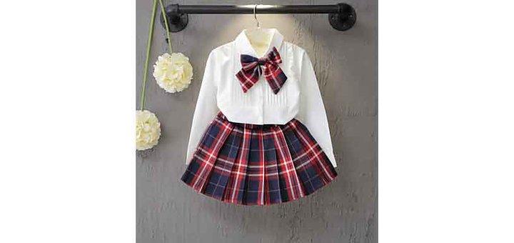 Скидки до 70% на одежду для девочек