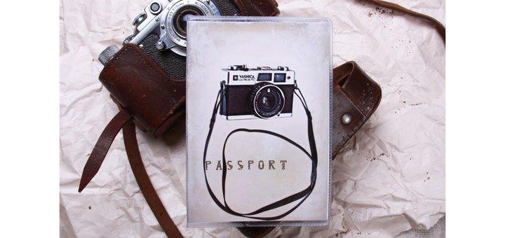 Купи визитницу на 40 визиток - и получи обложку на паспорт в подарок!