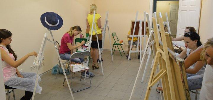 До 3 мастер-классов по масляной живописи в школе рисования и творческого развития «KievArtClub»
