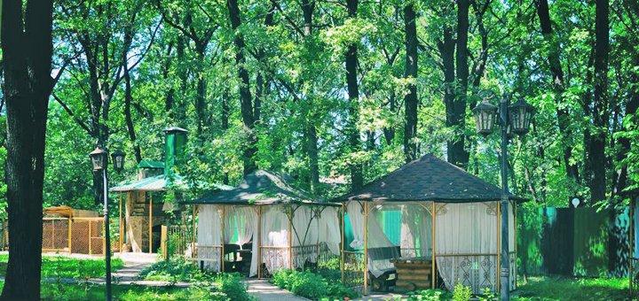 От 2 дней отдыха с посещением бассейна в отеле «Зеленая Дубрава» под Полтавой