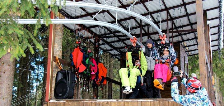 Экстремальные развлечения в Буковеле от Буковельскі гірки «Roller Coaster zipline»