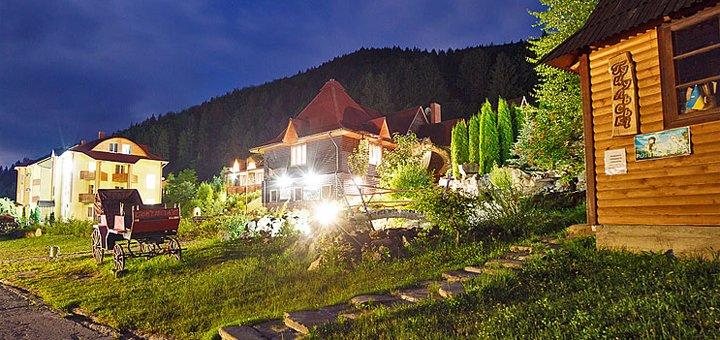 От 3 дней отдыха в туристическо-оздоровительном комплексе «Маєток Сокільське» в Карпатах