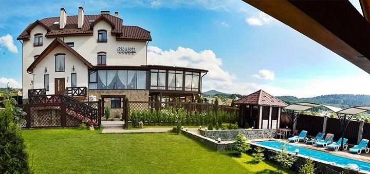 От 3 дней отдыха с питанием и посещением бассейна в отеле «Villa Grand» в Сходнице