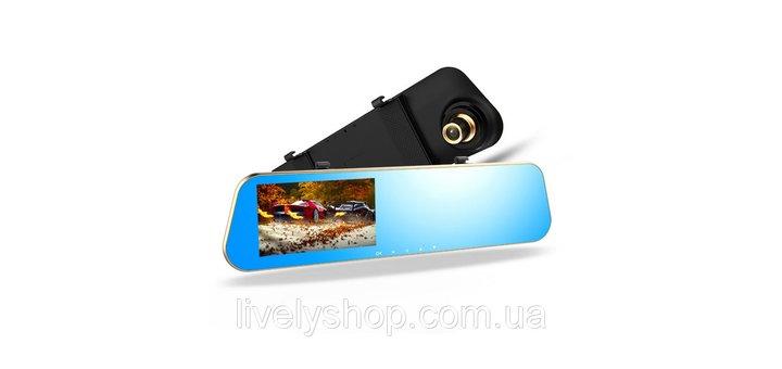 Скидка на зеркало видеорегистратор с камерой заднего вида