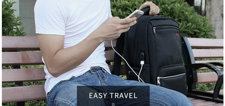 Скидка 5% на все рюкзаки Tigernu c USB портом!
