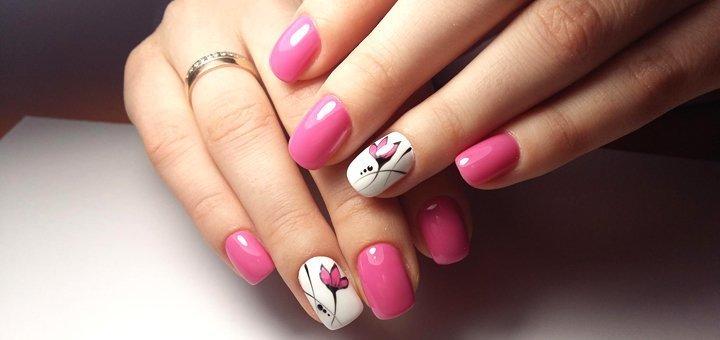 Маникюр и покрытие гель-лаком в салоне красоты «Style-Nika»