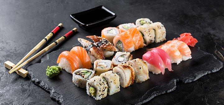 Знижка 50% на все меню японської кухні від служби доставки суші «Mr.Chang»
