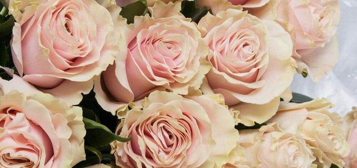 Скидка 30% на букет из 25 роз Пинк Мондиаль!