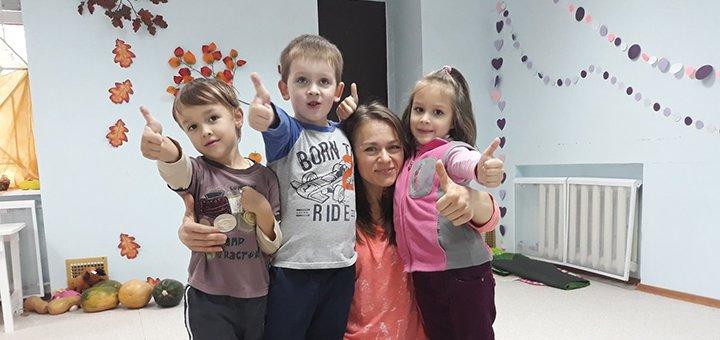 До 66 посещений частного детского сада с питанием в детском центре «Мармелад»