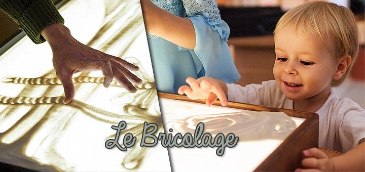 Мастер-класс по песочной анимации для взрослых и детей в студии «La Bricolage»! Всего от 25 грн.!