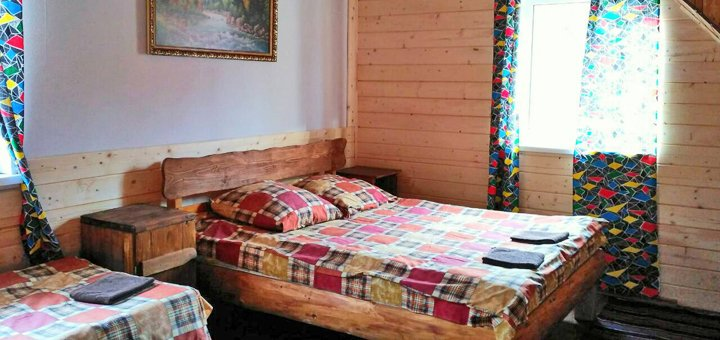 От 2 дней отдыха с завтраками в Новогодний период в отеле «Урочище Багончик» в Ворохте