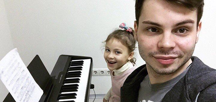 До 8 индивидуальных уроков игры на фортепиано в музыкальной академии «Art Mus»