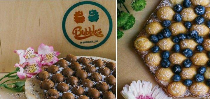 Солодка спокуса!!! 50% знижка на все меню кафе Bubbles!
