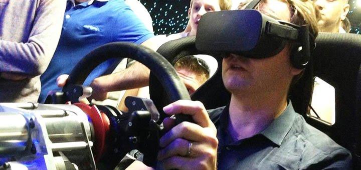 Скидка 50% на один час игры на аттракционе виртуальной реальности «Virtual Racing»