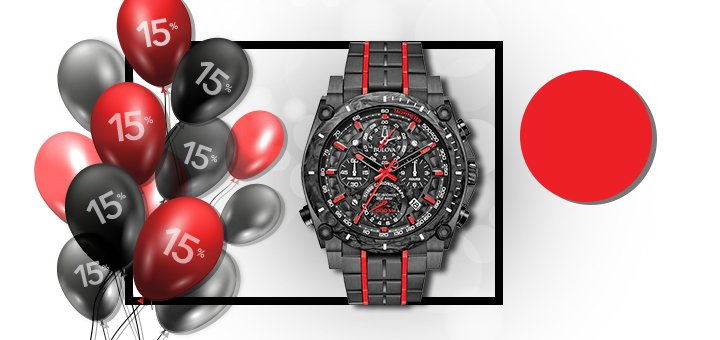 Скидка -15% на наручные часы от «Секунда»