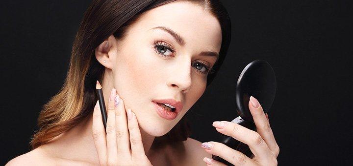 Практический курс «Макияж для себя» от школы красоты «International Beauty School»