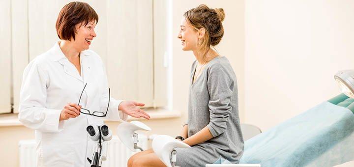 Комплексное обследование у гинеколога в клинике международного уровня «IMP clinic»
