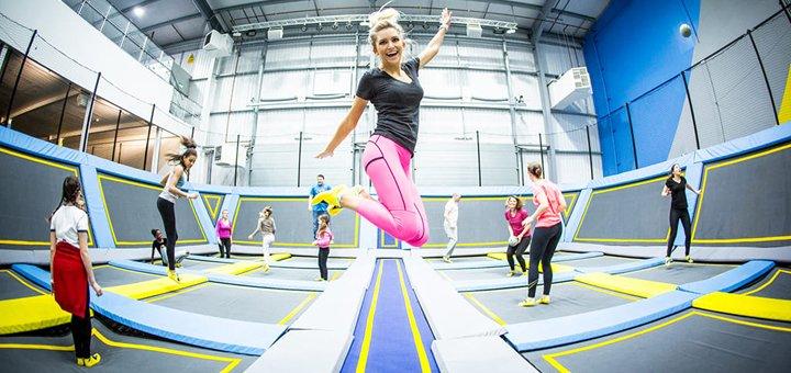 До 2 часов обучения прыжкам на батутах от компании «Active Life»