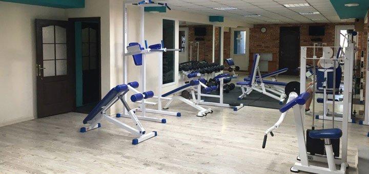 Скидка 46% на безлимитные занятия в тренажерном зале фитнес-клуба «Sky Hall»