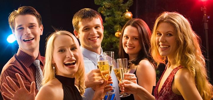 Скидка до 25% на новогодний банкет в ресторане «Garden cafe»