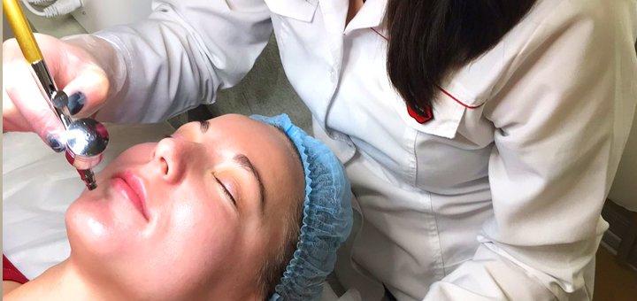 Чистка лица с маской по типу кожи в медицинском центре «Sono»