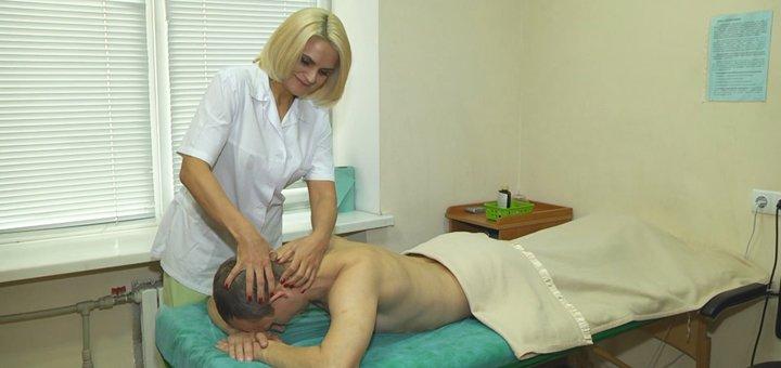 Скидка до 60% на массаж спины в центре красоты и здоровья «Оберег»