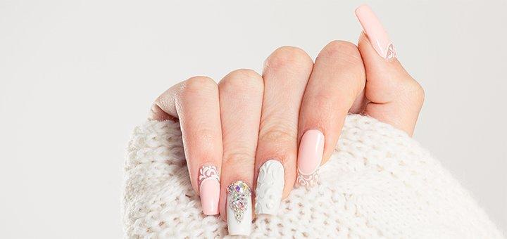 Маникюр, педикюр с покрытием в салоне красоты «Flamingo beauty studio»