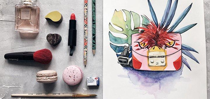 Онлайн мастер-классы Fashion иллюстрации от школы «Fantasy room»