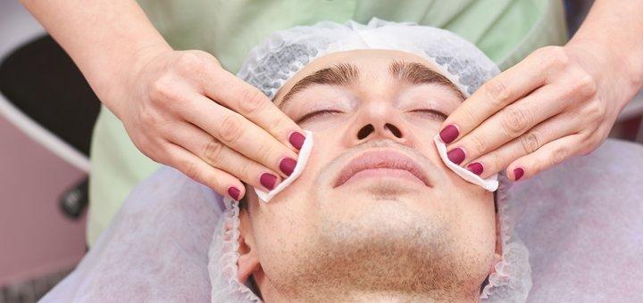 Комплексная чистка лица для мужчин от косметолога Ольги Сигорских