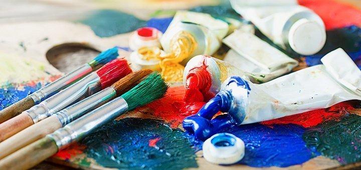 До 24 часов обучения масляной живописи в художественной студии «7 Чудес»