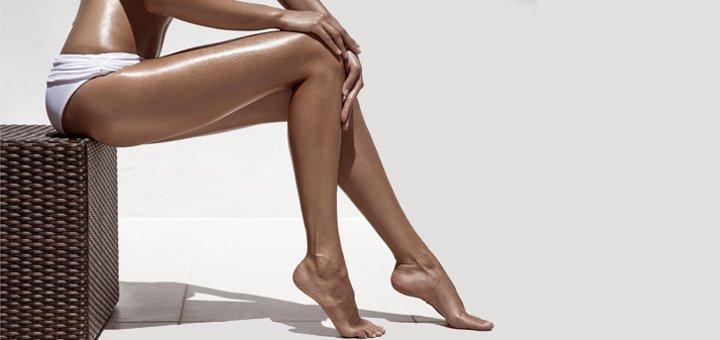 Тростниковый загар ног в салоне красоты «Аннабель»