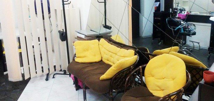 Стрижка, кератиновое восстановление волос в салоне «Anna Lorenzi studio»