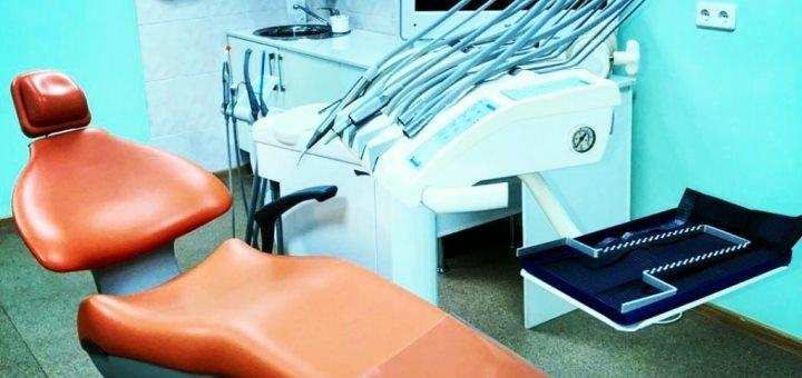 Установка фотополимерной пломбы (реставрация) в стоматологии «ТриDent» на Дарнице