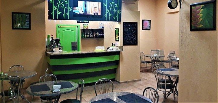 Скидка 40% на все меню кухни и бара в «Termite Cafe»