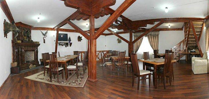 От 3 дней отдыха на Новый год с питанием и посещением сауны на базе отдыха «Берлога» в Карпатах