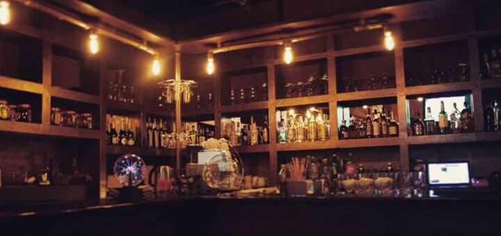 Скидка 50% на все меню кухни, чайную и кофейную карту в баре «Edison»