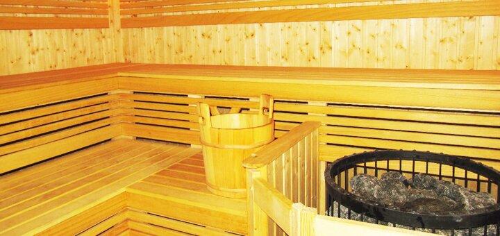 До 3 часов аренды финской сауны для компании в оздоровительном комплексе «Сырец»