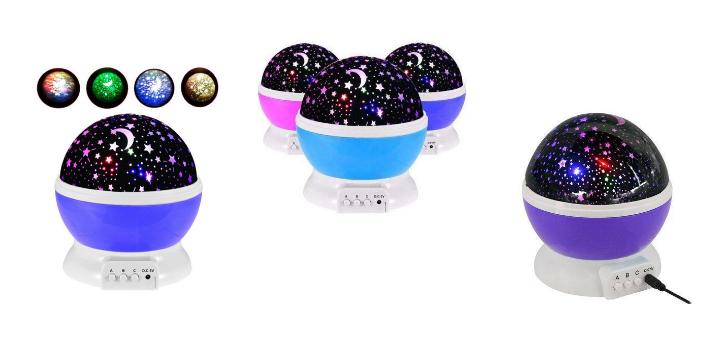 Скидка 29% на ночник-проектор Star Master до конца месяца в интернет-магазине «VtrendeVV»